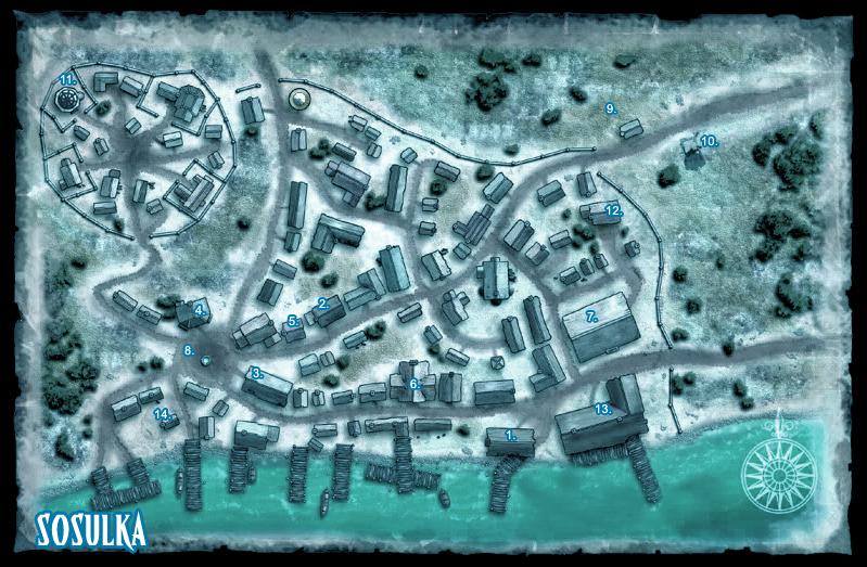 Sosulka - Ruins Of Pathfinder